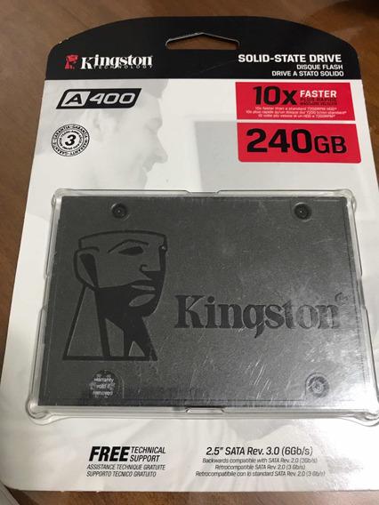 Hd Ssd 240gb Kingston - Com Garantia!!!