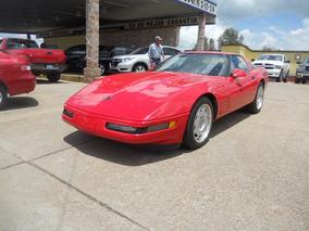 Chevrolet Corvette 1991, Rojo.