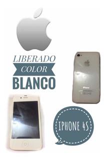 iPhone 4s De 16 Gb Blanco Liberado