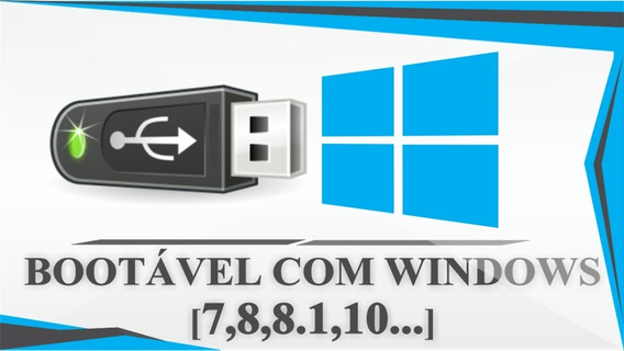 Pendrive Botavel Windows 7 8 10
