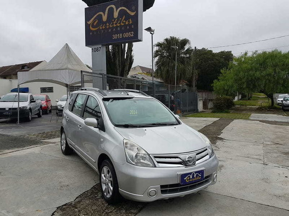 Nissan Livina 1.8 16v Flex 4p Aut 2014