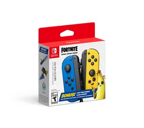 Imagen 1 de 4 de Controles Joy-con Edición Fortnite Bundle Nintendo Switch