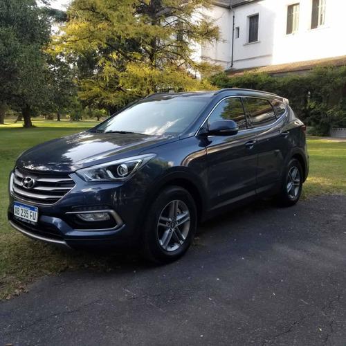 Hyundai Santa Fe 2.4 Seguridad 7as 6at 2wd 2017