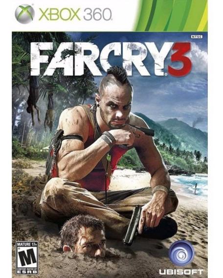 Jogo Mídia Física Lacrado Ubisoft Far Cry 3 Para Xbox 360