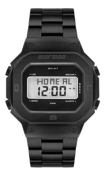 Relógio Mormaii Pro Masculino Preto Mobj3421ab/4p