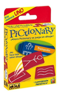 Pictionary Cartas Original Ruibal Mattel Oficial 7142