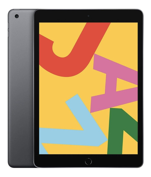 iPad 7a Geração Apple Cinza Espacial Wi-fi 10,2pol 128gb