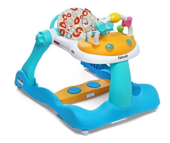 Andador Bebé Felcraft Bouncy Steps 3 En 1 Caminador