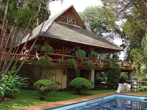 Santana (tremembe) Casa 700,00m²construção Terreno De 6.200,00m² 4 Dormitórios R$ 2.450.000,00 - Avaliamos 30% Em Permuta - Ca00009