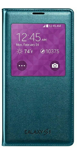 Samsung Galaxy  S5 Case  S View  Flip Cover Original