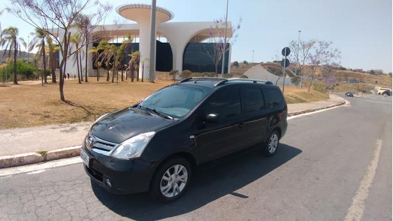 Nissan Grand Livina 1.8 Ls At+ar Digital+couro