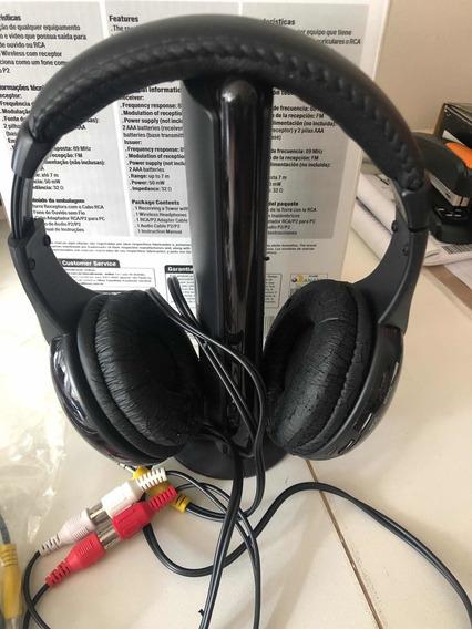 Headphone Multilaser Radio Fm
