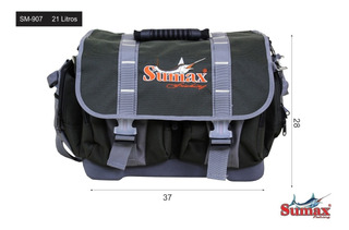Bolso De Pesca Sumax Sm-907 Ideal Señuelos Tararira!!!