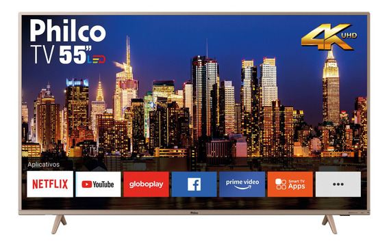 Smart Tv Philco 4k 55 Ptv55f62snc4 Hdmi Usb