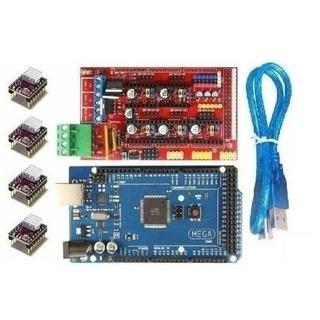 Kit Full Ramps 1.4 Arduino Mega 2560 C/cable 4 Driver 8825