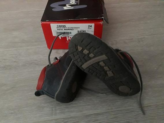 Botitas Marcel Niño 24 Zapatilla Zapato