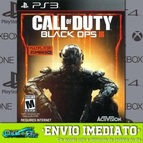 Call Of Duty Black Ops 3 Ps3 Psn Midia Digital Envio Rapido!