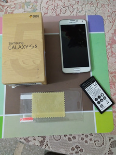 Samsung S5 Duos 2gb Ram 4g Lte Tarj Carga Inalambrica (120v)