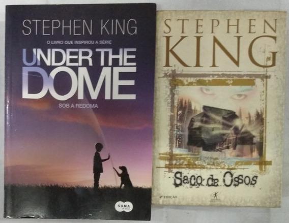 Livros Sob A Redoma & Saco De Ossos Stephen King