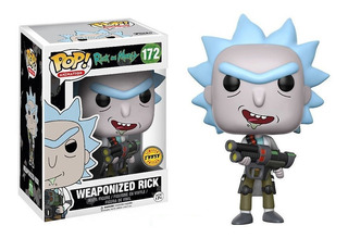Weaponized Rick (chase Edition): Funko Pop! Rick & Morty
