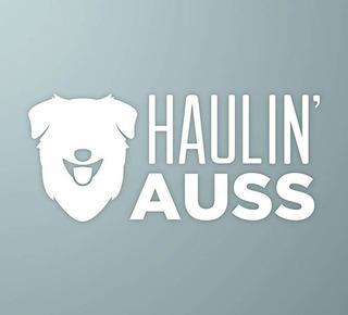Makemarksgr Haulin Auss | Perro De Pastor Australiano Etique