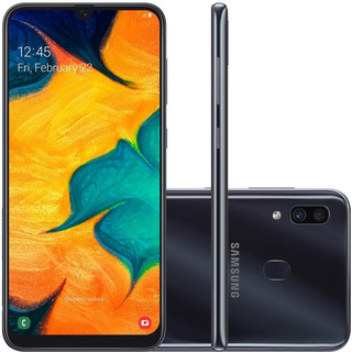 Smartphone Samsung Galaxy A30 6.4 64gb Preto Sm-a305gz