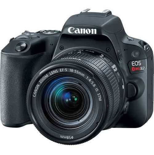Câmera Canon Rebel Sl2 18-55mm Is Stm