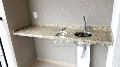 Apartamento Com 3 Dormitórios À Venda, 76 M² Por R$ 455.000 - Vila Floresta - Santo André/sp - Ap11300
