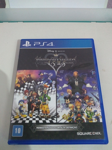 Jogo Ps4 Kingdom Hearts 1.5 + 2.5 Remix Mida Física Seminovo