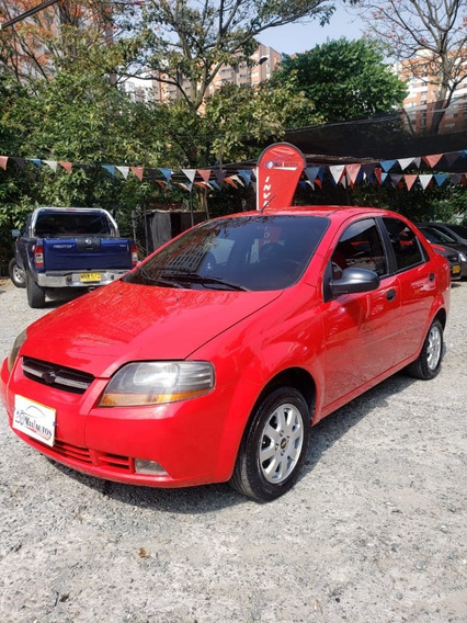 Chevrolet Aveo Sedan,2006,1400cc,149.194kms,rojo Super
