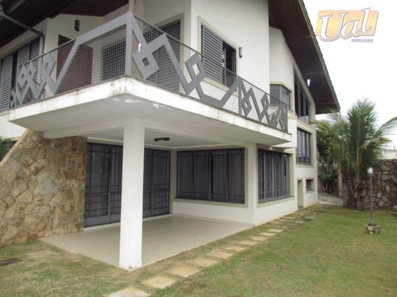 Sobrado Residencial À Venda, Jardim Tapajós, Atibaia - So0817. - So0817