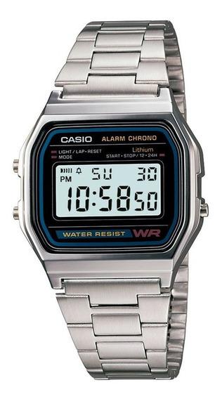 Relógio Casio Vintage Unissex Digital A158wa-1df