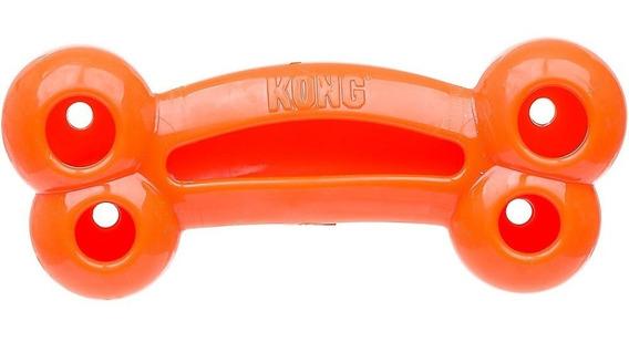 Kong Quest Bone Large Grande Brinquedo Borracha Osso Cães