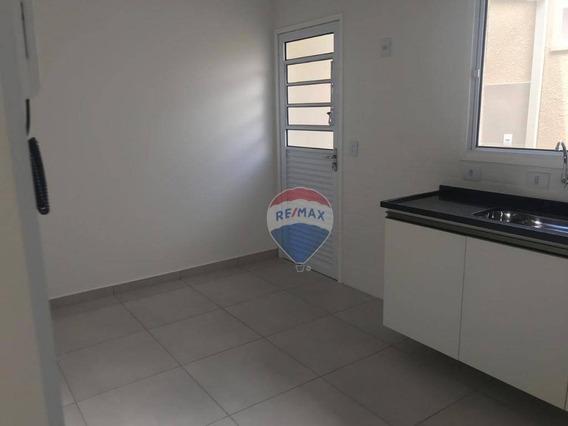 Casa Com 2 Dormitórios Para Alugar, 60 M² Por R$ 1.150/mês - Jardim Imperial - Atibaia/sp - Ca5598