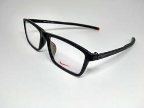 Armação Óculos De Grau Nike 9037af Masculino.