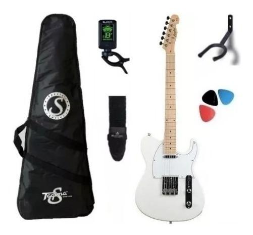 Kit Guitarra Tagima Telecaster Tw55 Woodstock Branco + Nf!