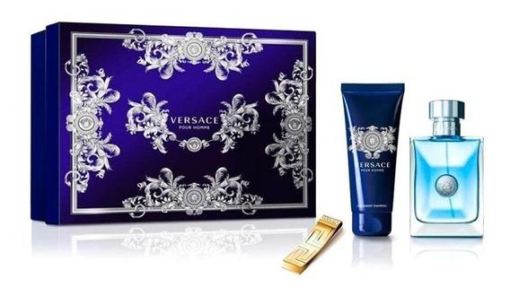 Versace Pour Homme Kit Perfume 100ml