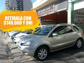 Renault Koleos 2009 2.5n 4x4, Retirala Con $140.000 Y Dni