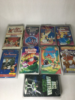 Peliculas Vhs Cuentos Clasicos De Disney Originales
