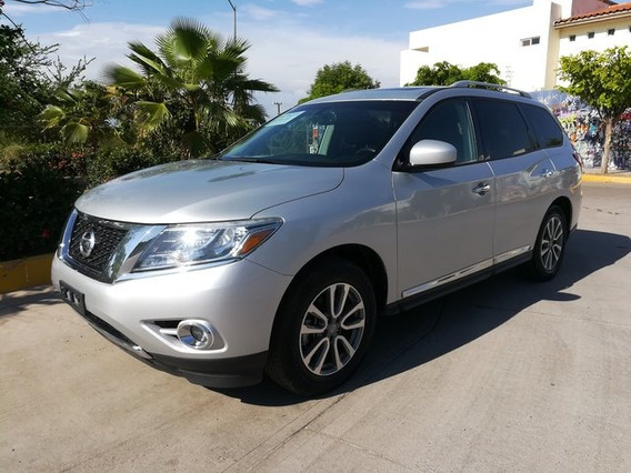 Nissan Pathfinder Advance 2016 Seminuevos