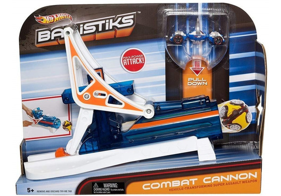 Hot Wheels Ballistiks Cañon De Transformacion
