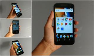 Celular Motorola Moto G4 Xt1621 Negro Dual Sim 16gb En Caja