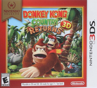 Donkey Kong Country Returns - Nintendo 3ds (físico)