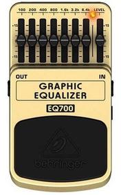 Pedal Behringer Eq700 Graphic Equalizer Equalizador Gráfico