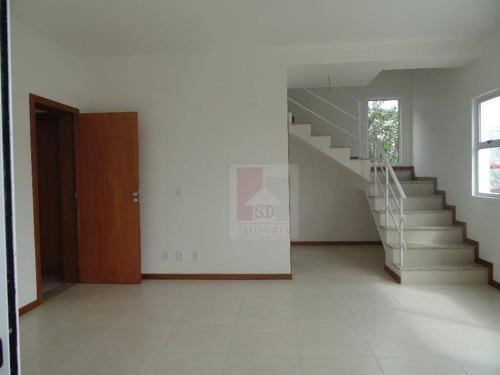 Casa Com 2 Dormitórios À Venda, 105 M² Por R$ 395.000,00 - Fazendinha - Teresópolis/rj - Ca0161