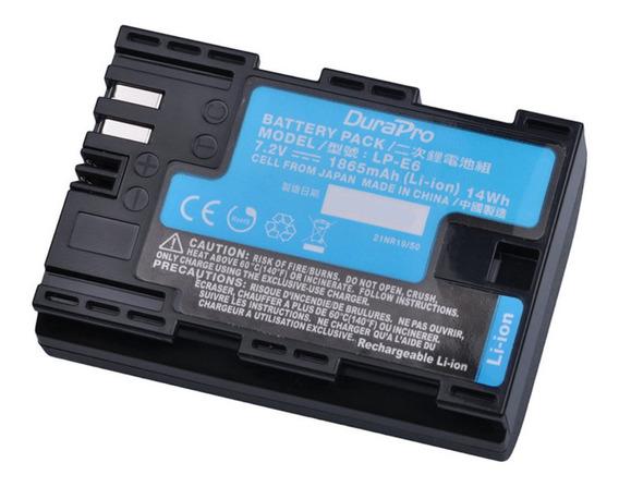 Bateria Lp-e6 P/ Canon 6d 5dmkii 60d 7d