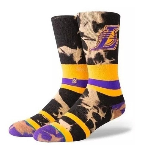 Medias Stance Lakers Acid Wash Unisex