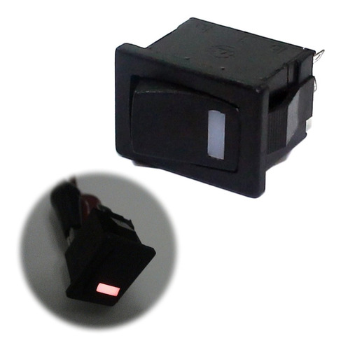 3x Interruptor Gangorra Led Spst Chave Liga Desliga Arduino