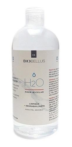 Agua Micelar Limpieza + Desmaquillante X 250 Ml - Biobellus