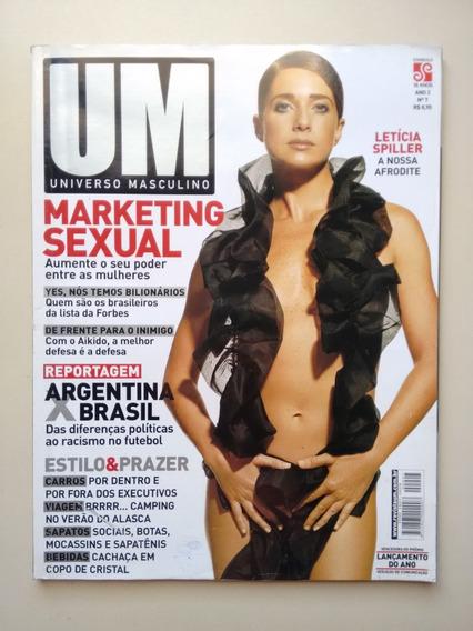Revista Um Universo Masculino 7 Leticia Spiller Estilo B172